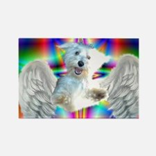 Funny Coton de tulears Rectangle Magnet