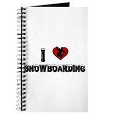 I Love Snowboarding! Journal