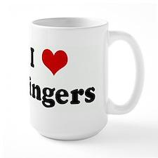 I Love Gingers Mug