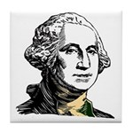 President George Washington Tile Coaster