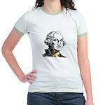 President George Washington Jr. Ringer T-Shirt