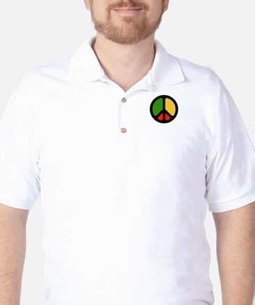 Rasta CND logo Golf Shirt