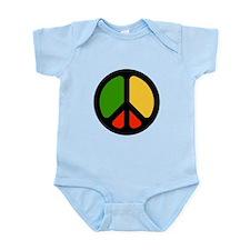 Rasta CND logo Infant Bodysuit