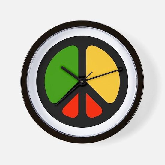 Rasta CND logo Wall Clock