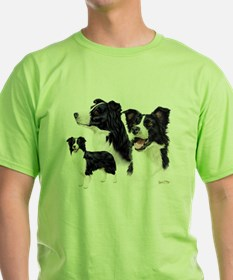 Border Collie Multi T-Shirt