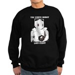 White Robot Sweatshirt (dark)
