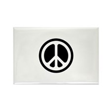 Classic CND logo Rectangle Magnet