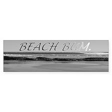 Beach Bum Bumper Car Sticker