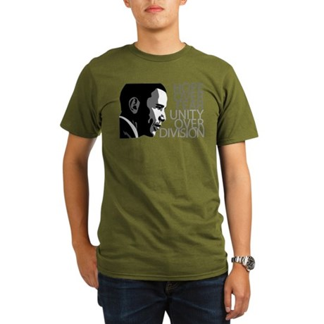 Obama - Hope Over Division - Organic Men's T-Shirt
