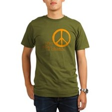Give Peace a Chance - Orange T-Shirt