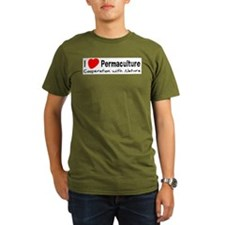 I Love Permaculture T-Shirt
