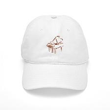 Piano Baseball Cap