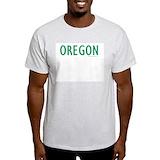 Oregon green Mens Light T-shirts