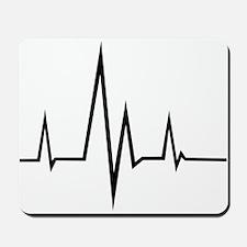 Pulse - Heartbeat Mousepad