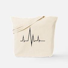 Pulse - Heartbeat Tote Bag