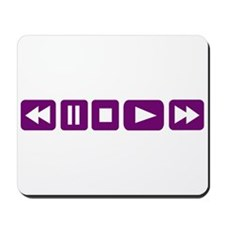 Music Player Mousepad
