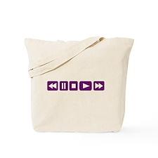 Music Player Tote Bag