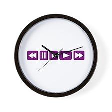 Music Player Wall Clock