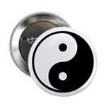 "Yin-Yang 2.25"" Button (100 pack)"
