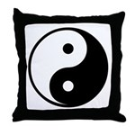 Yin-Yang Throw Pillow