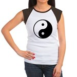 Yin-Yang Women's Cap Sleeve T-Shirt