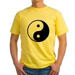 Yin-Yang Yellow T-Shirt