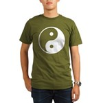 Yin-Yang Organic Men's T-Shirt (dark)