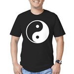 Yin-Yang Men's Fitted T-Shirt (dark)