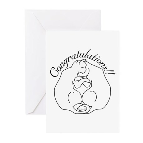 Couple Congratulations!2 Greeting Cards (Pk of 20)
