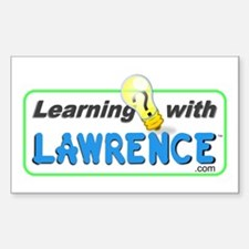 Learning with Lawrence Rectangle Decal