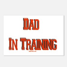 Dad In Training Postcards (Package of 8)