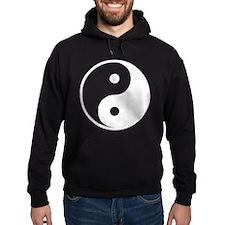 White Yin-Yang Hoody