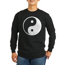 White Yin-Yang T
