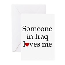 Someone in Iraq... Greeting Cards (Pk of 10)