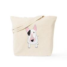 Unique White bull terrier Tote Bag