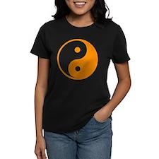 Orange Yin-Yang Tee