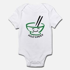Miso Green Infant Bodysuit