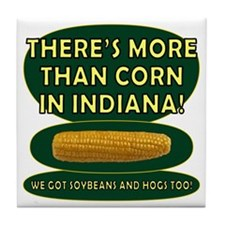 Indiana Corn Tile Coaster