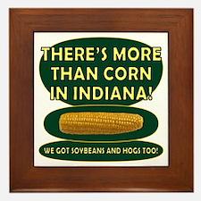 Indiana Corn Framed Tile
