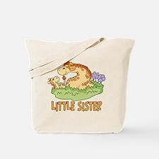 Two Giraffes Little Sister Tote Bag