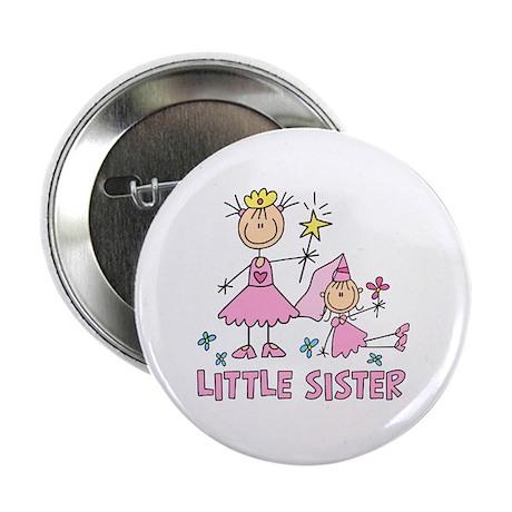 "Stick Princess Duo Little Sister 2.25"" Button"