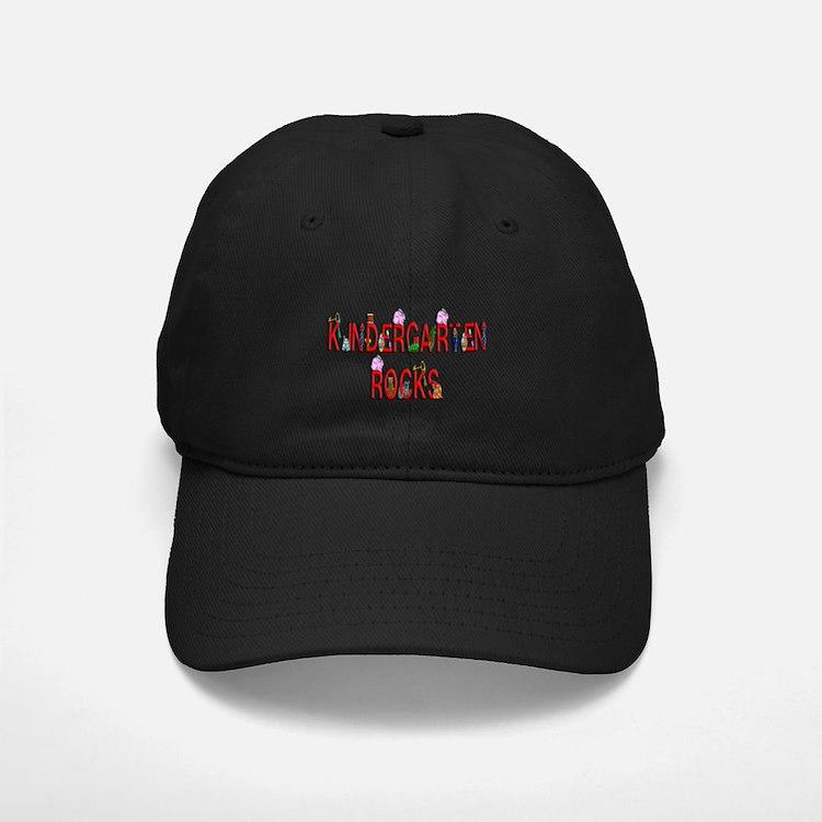 Kindergarten Rocks Baseball Hat