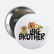 """Cute Lions Big Brother 2.25"""" Button"""