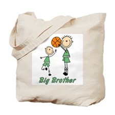 Stick Basketball Big Brother Tote Bag