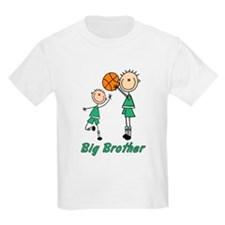 Stick Basketball Big Brother T-Shirt