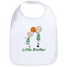 Stick Basketball Little Brother Bib