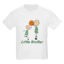 Stick Basketball Little Brother T-Shirt