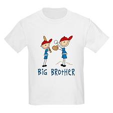 Stick Baseball Big Brother T-Shirt