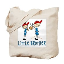 Stick Baseball Little Brother Tote Bag