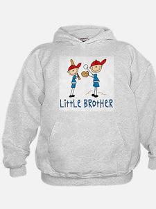 Stick Baseball Little Brother Hoodie